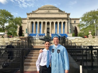 Columbia Graduation and a Special Announcement