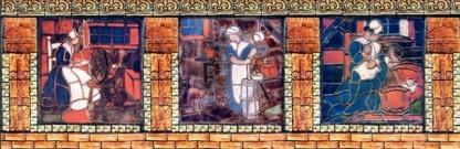 Teachers College 07--Moravian tiles