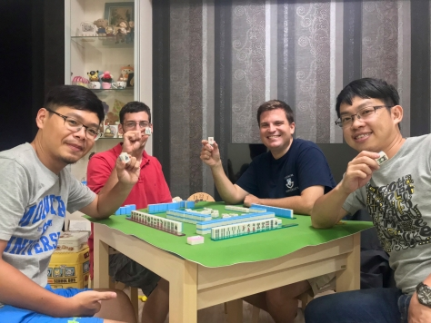 Learning how to play Mahjong