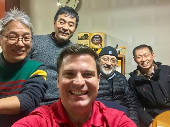 With Marist Brothers in Korea