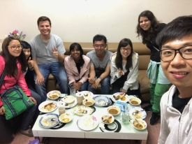 With Fulbrighters in Kinmen